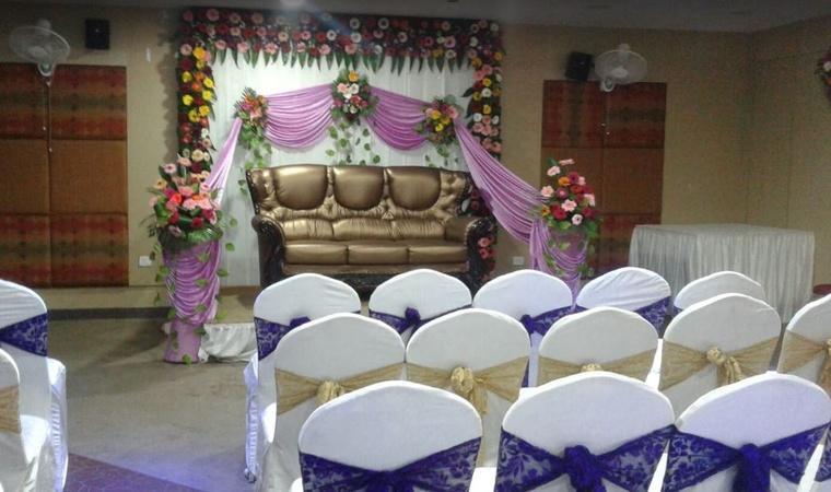 Hotel Aarian Aatithya GS Road Guwahati - Banquet Hall