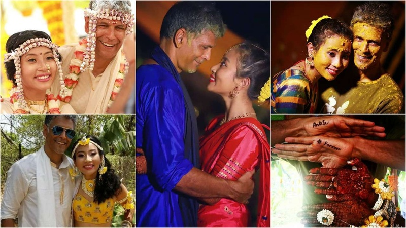 Everything that went down at Milind Soman's intimate wedding with Ankita Konwar!