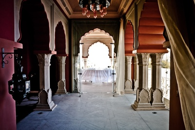 Vintage colonial interiors with a touch of class and taste at Hotel Fairmont, Jaipur