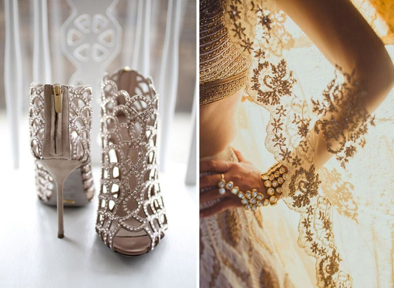 Scalloped Edging or Borders – A New Twist to Indian Bridal Wedding Dresses