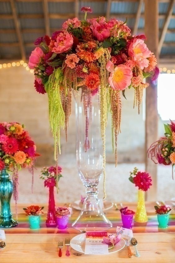 Indian Wedding Centre Piece Ideas
