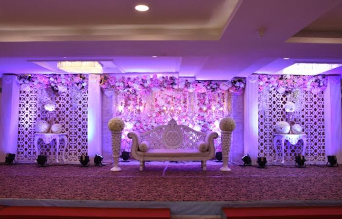 The Grand Palace Purasaiwakkam Chennai - Banquet Hall