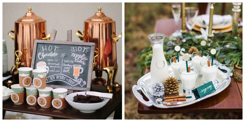 5 Hot Drinks to Serve at your Winter Wedding