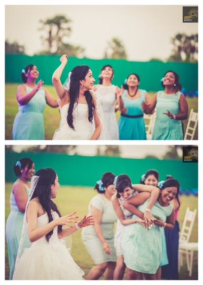 Outdoor wedding held at White Zuri Sands Resorts, Goa