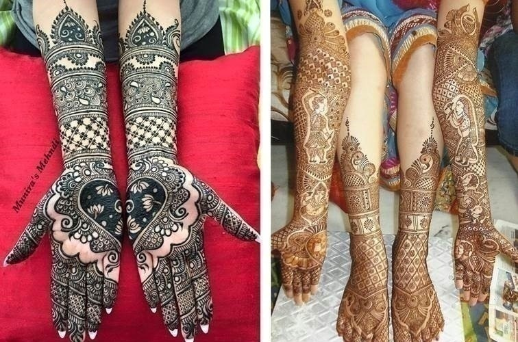 Mehndi Henna Design With Peacock Motif : The ms of mehendi design trends this season mandala minimal