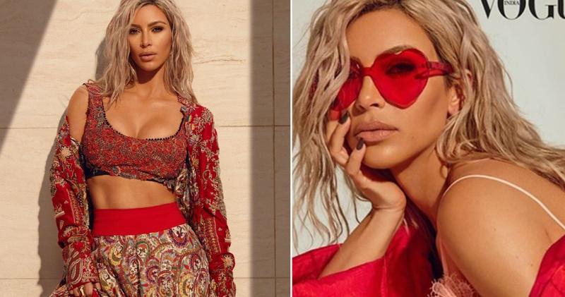 Kim Kardashian broke the internet this weekend in these gorgeous lehenga & sarees!
