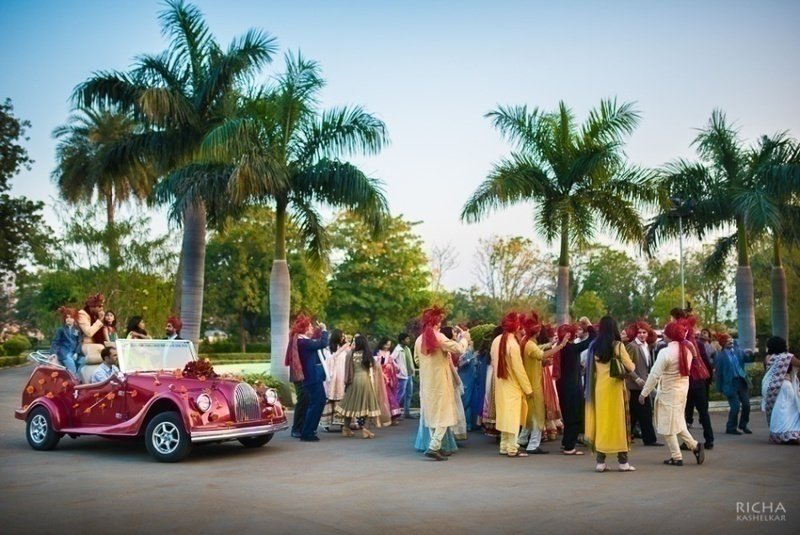 Transportation to and from the ceremony and reception sites