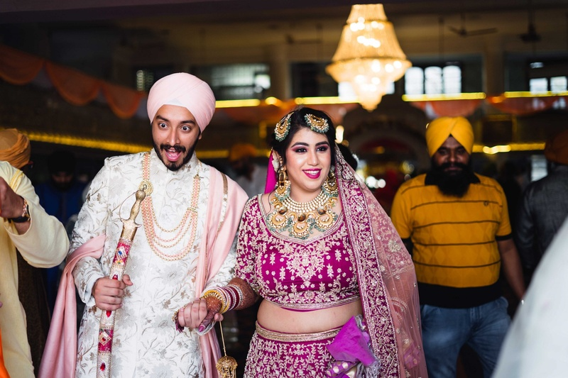 Kiranpreet and Karanjit Mumbai Gurudwara Wedding