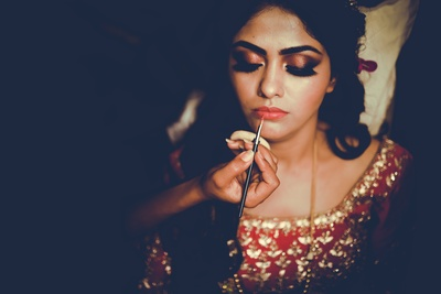 Ruchika gets ready for her big day