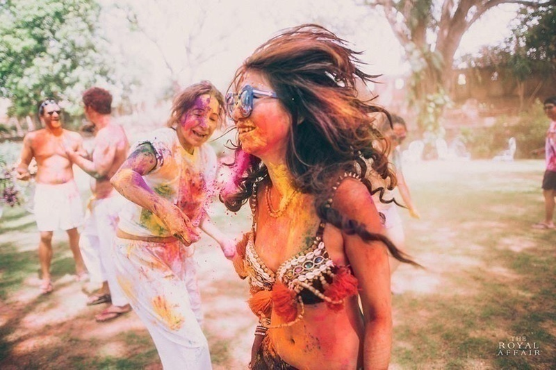 The Holi Party