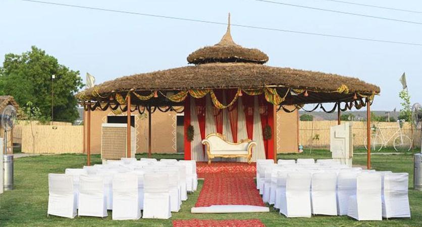 MadhavGarh Farms Sohna Road Gurugram - Wedding Lawn