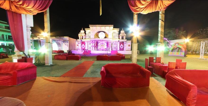 Om Sai Farm House Lal Kuan Ghaziabad - Banquet Hall
