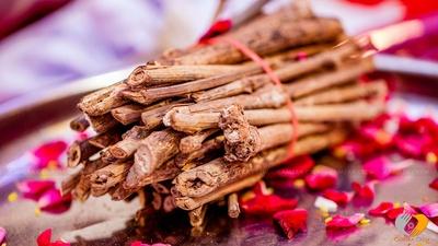 Wooden logs for the Havan pooja