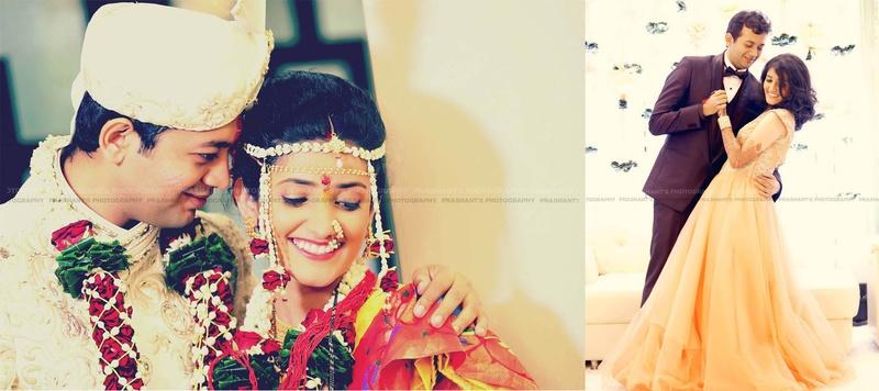 Parth & Shefali Mumbai : Intimate Indoor Wedding with Green-Hued Decor