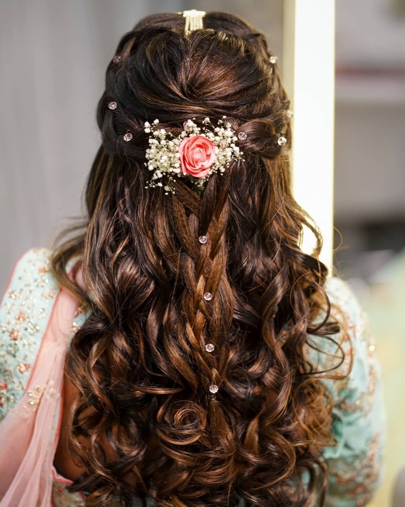 Trending Wedding Hairstyles for long, short & medium haired brides! | Bridal  Look | Wedding Blog