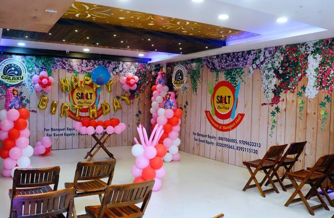 Saalt Blue Petals Restaurant and Banquet Hall Anandpuri Patna - Banquet Hall