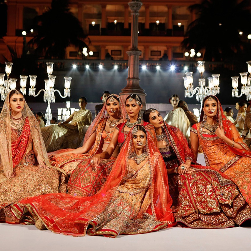 Bridal Couture by Tarun Tahiliani for the Wedding Times Fashion Fiesta