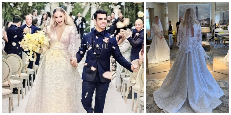 Sophie Turner and Joe Jonas' Official Wedding Pictures - Late, but worth the wait!