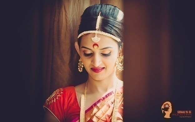 Red and Gold Kanjivaram Silk Saree