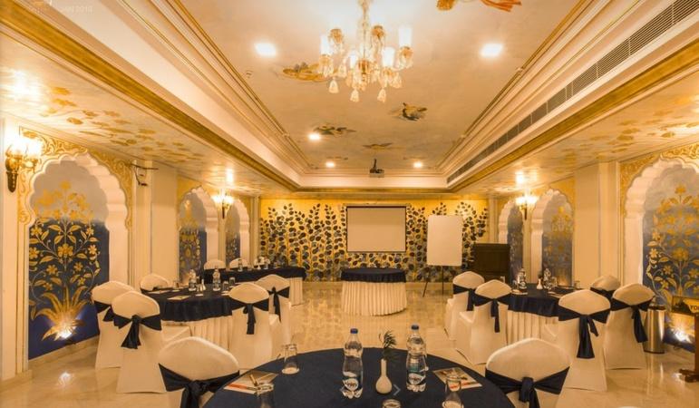 Umaid Haveli Kukas Jaipur - Banquet Hall