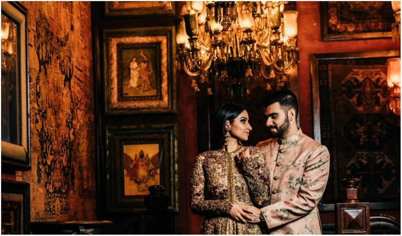 This Couple Had A Pre Wedding Shoot In Sabyasachi's Mumbai Flagship Store And It's Simply WoW!