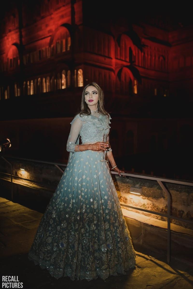 13d13bdf904 Wedding Lehenga Colours to opt for your Night Wedding! - Blog