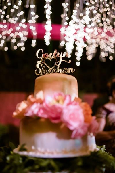 The super delicious wedding cake