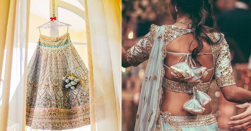 7 types of Latkan designs that can totally transform your bridal lehenga!