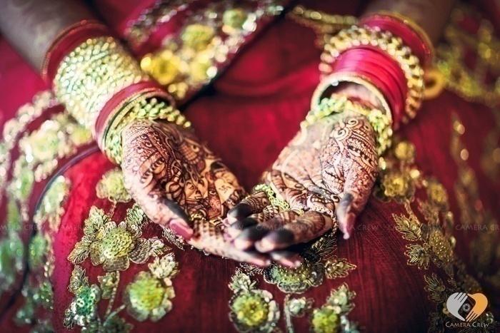 Classic Red and Gold Bridal Lehenga
