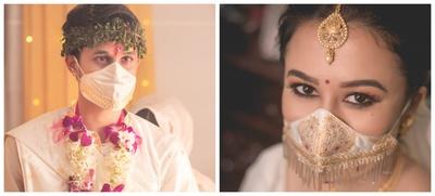 Nirmala and Pratyush's Guwahati Intimate Lockdown Wedding