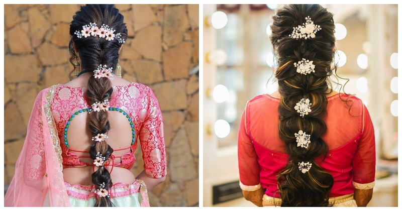 12 Brides who prove that braids will never go out of fashion!