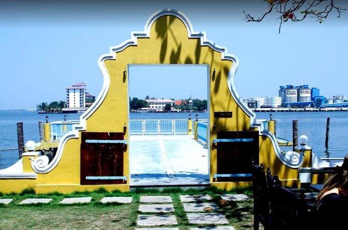 The Waterfront Granary Museum Hotel Mattancherry Kochi - Wedding Lawn