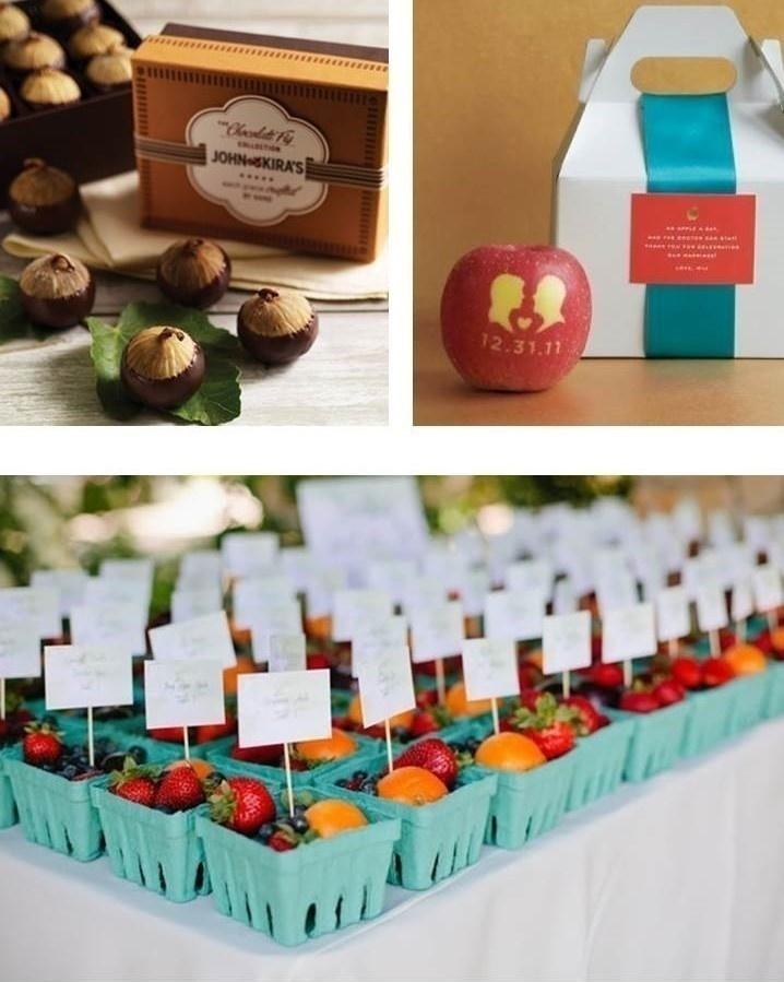 FRUIT BASED WEDDING FAVOURS