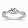Elvira Diamond Platinum Ring image