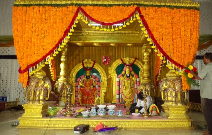 Sri Vidyaparameswari Pushkaraothsava Mandapam Dundigal Hyderabad - Banquet Hall