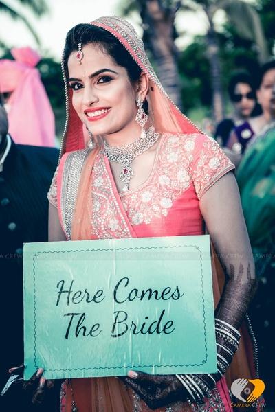 Signage ideas for wedding shoot