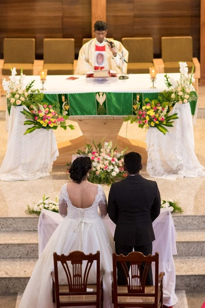 Wedding held at The Lady Of The Sacred Heart Church (OLSH) - Bangalore
