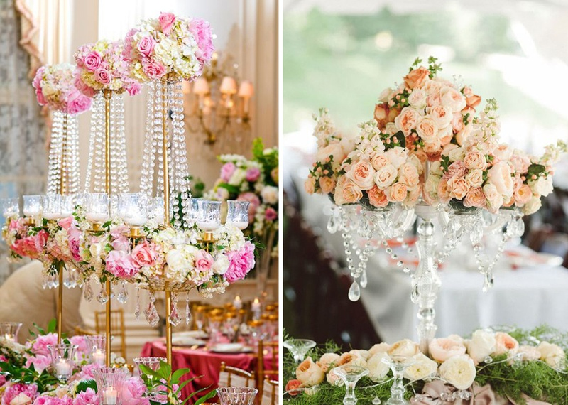 50 Ideas On How to Glam Up Your Wedding Décor With Crystals
