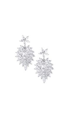 Marquise Cut Drop Earrings