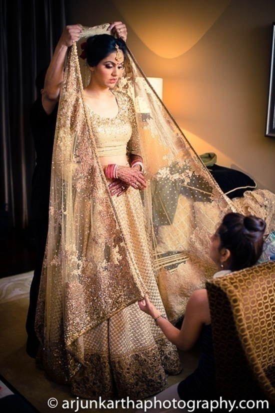 Sabyasachi Gold for The big day!