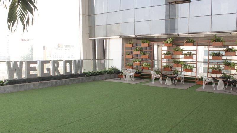 Wegrow Rooftop Garden Vashi Mumbai - Banquet Hall