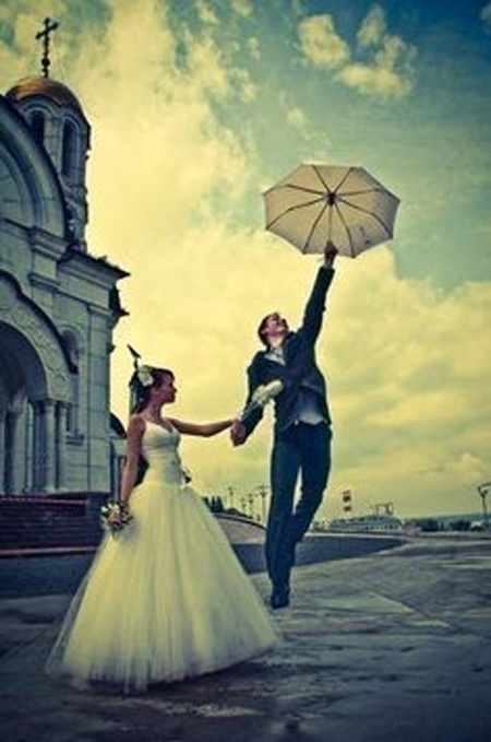 How to Deal with Rain on Your Wedding Day?