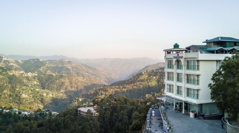 The Zion An Amritara Resort Kachi Ghatti Shimla - Banquet Hall