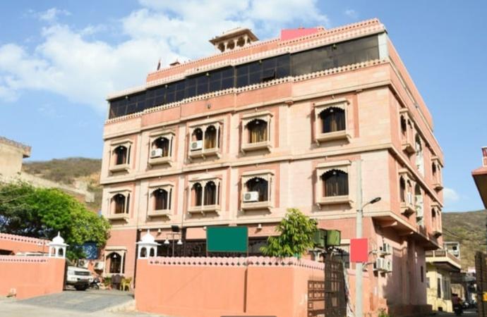 a photo of Hotel Ashok Palace