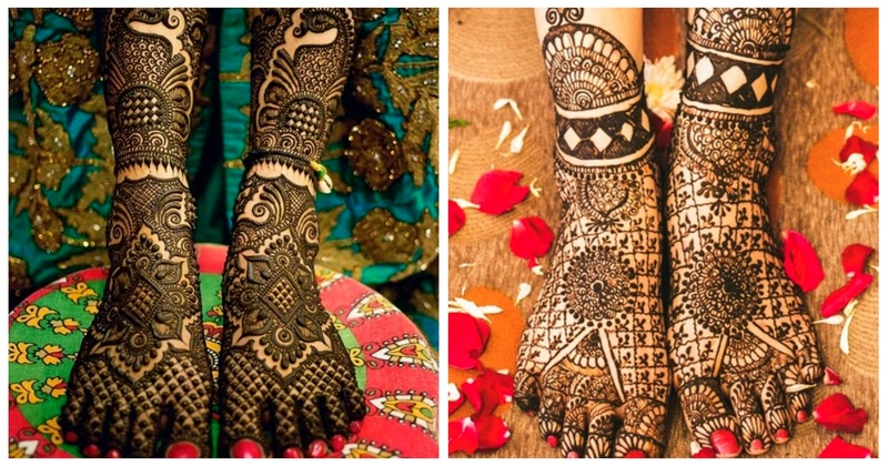 10+ Stunning Feet Mehndi Designs that went really popular on Insta!