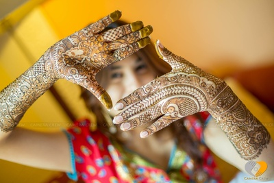 Detailed mehendi designs