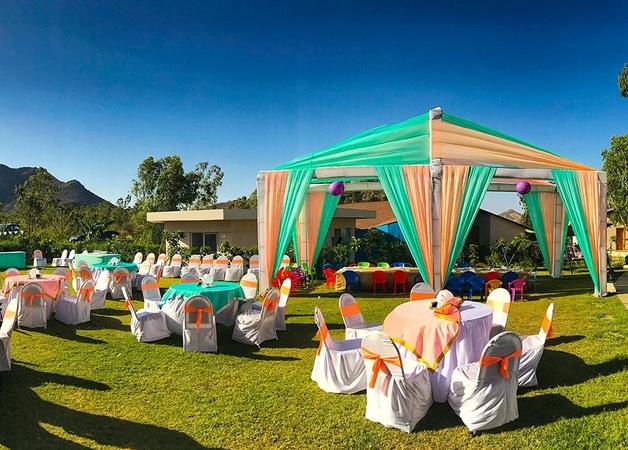 Bamboo Saa Resort And Spa Mallatalai Udaipur - Banquet Hall