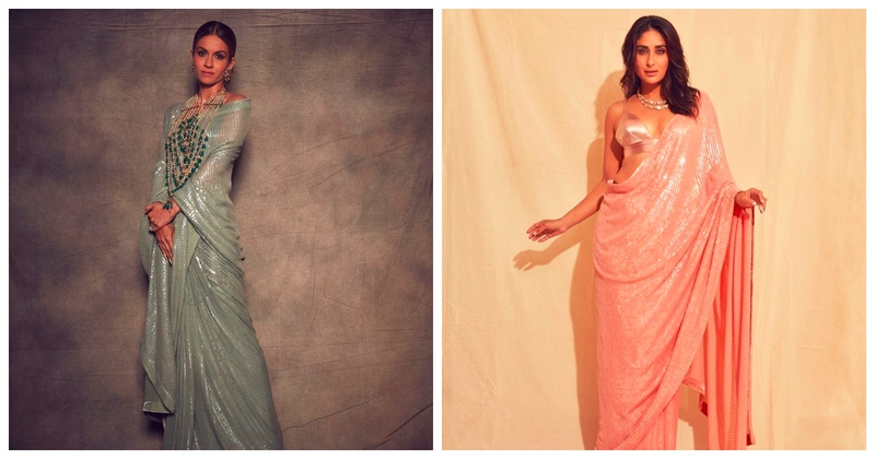Bridesmaid Diaries: 8 Sequins Sarees to Wear for Your BFF's Wedding