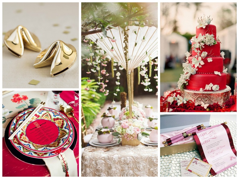 How to Organize a Perfectly Infused Oriental Themed Wedding?