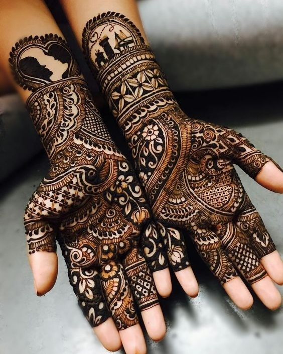 Simple Mehndi Design For Brides Who Like To Keep It Minimal Blog
